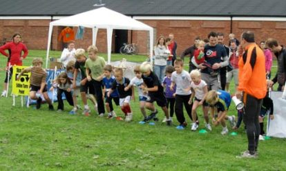 The start of a Kids Run Free event