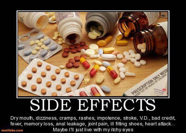 side effects of antidepressants--worse than depression