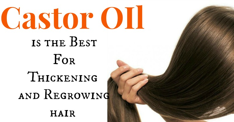 Castor Oil Is Great For Thickening And Regrowing Hair Eyelashes And